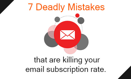 email opt in mistakes